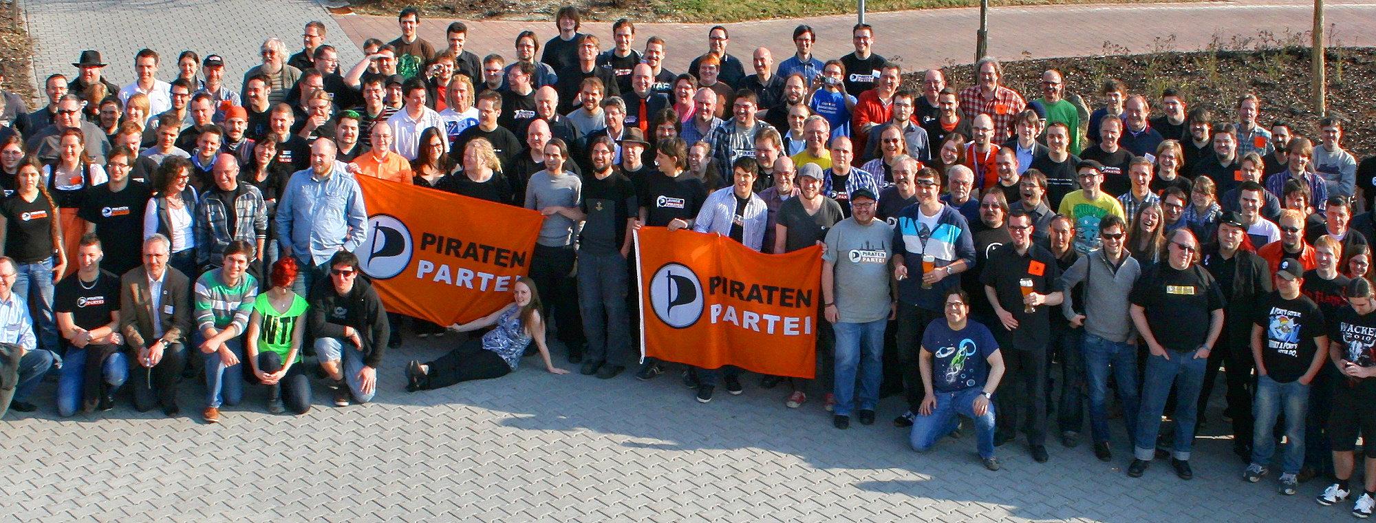 Piratenpartei Deutschland, Landesverband Bayern. CC-BY-SA 3.0 Olaf Konstantin Krueger